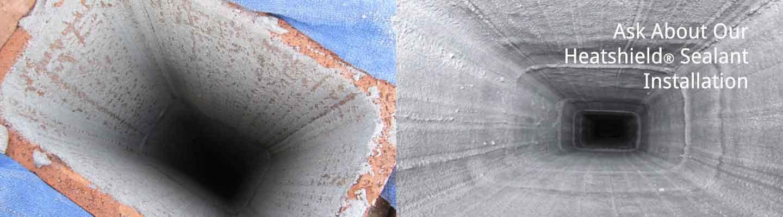 heatshield flue liner